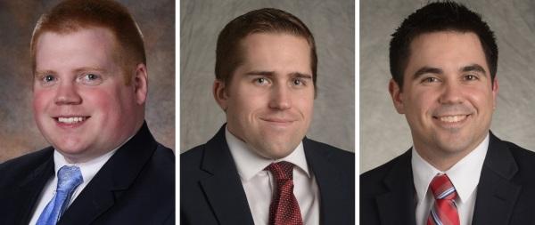 Andrews Ledebur, Kevin Day and Matthew Snyder.